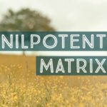 Nilpotent Matrix and Eigenvalues of the Matrix