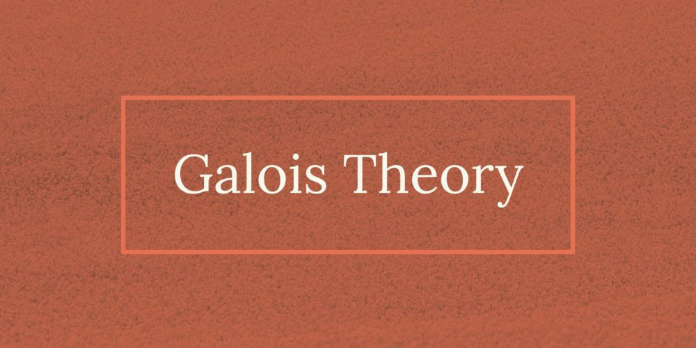 Galois theory problem and solution