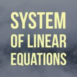 Summary: Possibilities for the Solution Set of a System of Linear Equations